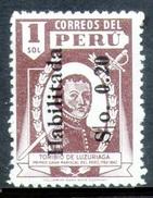 PERÚ-Yv. 400-N S Goma -PER-9239 - Peru