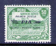 PERÚ-Yv. A 70-M N H -PER-9246 - Pérou