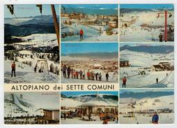ALTIPIANO  DEI  SETTE  COMUNI  (VI)   VEDUTE        (VIAGGIATA) - Italia