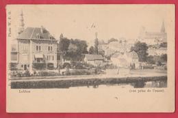 Lobbes ... Vue Prise De L'ouest - 1901 ( Voir Verso ) - Lobbes