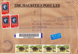 ILE MAURICE (MAURITIUS) Enveloppe En Provenance THE MAURITIUS POST LTD - PHILATELIC BUREAU Du 08.10.2010 - RARE - Mauritius (1968-...)