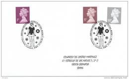 GREAT BRITAIN 2009. SPECIAL POSTMARK. BRITISH DESIGN. SIXTIES FASHION. MODA DE LOS AÑOS 60 - Textiles