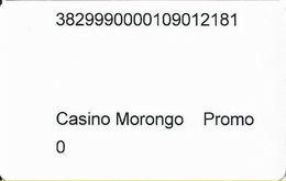 Morongo Casino - Cabazon, CA USA - Slot Card - Promo Card - Casino Cards