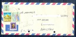 C217- Postal Used Cover. Posted From Iraq To Pakistan. Palestine. Bridge. - Iraq