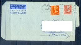 C220- Postal Used Aerogramme. Posted From Hong Kong To Pakistan. - Hong Kong (1997-...)