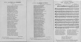6195 Lot De 7 CPA Chansons Du Poilu ( Chanson ) - Patriotiques