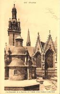 [DC10255] CPA - FRANCIA - PLEYBEN - VUE D'ANSEMBLE DE LA SACRISTIE DE L'ABSIDE DES CLOCHERS - NV - Old Postcard - Pleyben