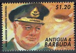Antigua Und Barbuda 2000 - MiNr 3328 - Winston Spencer Churchill - Antigua Und Barbuda (1981-...)