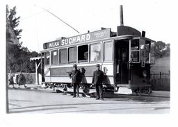 Reproduction: Montoie Terminus, Vers 1930 / Automotrice Ce 2/2 30 -54 / BVA / Lausanne - Tranvía