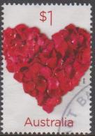 AUSTRALIA - USED 2016 $1.00 Love To Celebrate - Flower Heart - 2010-... Elizabeth II