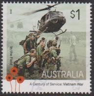 AUSTRALIA - USED 2016 $1.00 A Centuary Of Service - Vietnam War - In The Field - Helicopter - 2010-... Elizabeth II