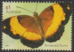 AUSTRALIA - USED 2016 $1.00 Beautiful Butterflies - Bordered Rustic - 2010-... Elizabeth II