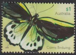 AUSTRALIA - USED 2016 $1.00 Beautiful Butterflies - Cairns Birdwing - 2010-... Elizabeth II