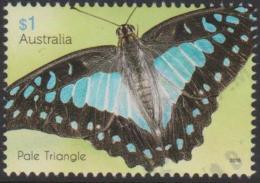 AUSTRALIA - USED 2016 $1.00 Beautiful Butterflies - Pale Triangle - 2010-... Elizabeth II