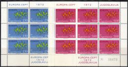 Yugoslavia,Europa CEPT 1972.,sheets,MNH - 1945-1992 Socialist Federal Republic Of Yugoslavia