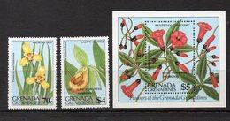 GRENADE - GRENADINES Timbres Neufs **  De 1984  ( Ref 4787 ) Fleur - Orchidée - Grenada (1974-...)