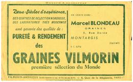 Gr/Buvard   Graines Vilmorin  (N= 1) - Agricoltura