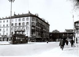 Reproduction:  Genève Place Cornavin Ce 2/2 No14 Vers 1926  BVA - Tranvía