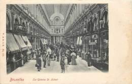 Bruxelles - Les Galeries St-Hubert - Avenues, Boulevards