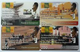 MALI - Remote Memory - MAL-R1 To 4 - RM Publicity - Used - Mali
