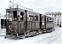 Reproduction: Genève,dépôt De La Jonction, Ce 4/4 No 167 En 1933  BVA - Tranvía