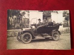 Automobile Marque ?? Carte Photo . - Cartes Postales