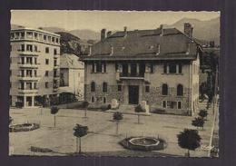 CPSM 04 - BARCELONNETTE - Place De L'Hôtel De Ville - TB PLAN CENTRE VILLE - Barcelonnette