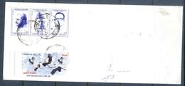 C244- Postal Used Cover Of Pakistan. Birds. White Stork. - Pakistan