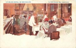 Bruxelles - Le Grand Hôtel - Le Grill Room ( Bar Américain ) - Cafés, Hôtels, Restaurants