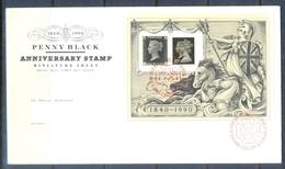 C257- FDC Of England. UK. U.K. Penny Black Anniversary. - Other