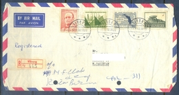 C258- Postal Used Cover Of Denmark. Post To Pakistan. Year 1968. Rare. - Denmark