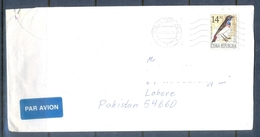 C259- Postal Used Cover Of Ceska Republic. Birds. - Czech Republic