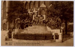 GAND LE MONUMENT AUX   FRERES HUBERT ET JEAN VAN EYCK - Gent