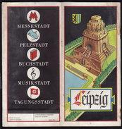 LEIPZIG - NAZI Publicité TOURIST BROCHURE GUIDE HITLER - Tourism Brochures