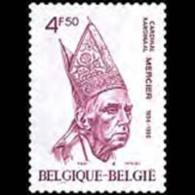 BELGIUM 1976 - Scott# 943 Cardinal Mercier Set Of 1 MNH - Belgium