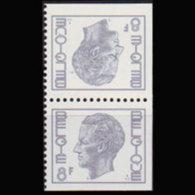 BELGIUM 1978 - Scott# 977b King Pair 8f MNH - Belgium