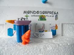 MONDOSORPRESA, (SC96-59)  FERRERO ,K99 N44, GNOMO CON LAVANDINO + CARTINA - Montabili