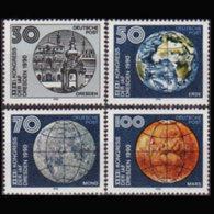 DDR 1990 - Scott# 2849-52 Astronautics Set Of 4 MNH - [6] Democratic Republic