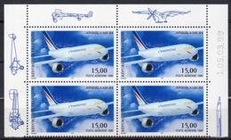 PA 63a 15 F. AIRBUS A 300  De Feuillet De 10 - COIN DATE 5/3//99 - Dated Corners