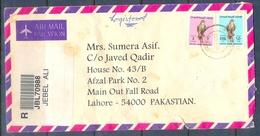 C270- Post From UAE. United Arab Emirates To Pakistan. Birds. Falcon. Eagle. - United Arab Emirates
