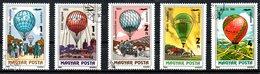 HONGRIE. PA 450-4 Oblitérés De 1983. Aérostats. - Luchtballons