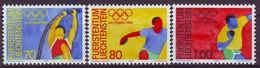 LIECHTENSTEIN 846-848,unused,olimpic Sport - Summer 1984: Los Angeles