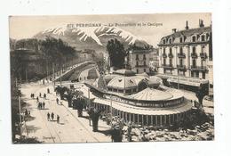 Cp , 66 , PERPIGNAN , Le Palmarium Et Le Canigou , Vierge - Perpignan
