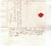 Lettera Da Trento Ad Almezzago (val Di Non) 1756  E665 - ...-1850 Prefilatelia