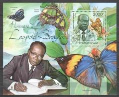 Central African Republic 2012 Mi Block 962 MNH BUTTERFLIES - Schmetterlinge