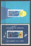 Cuba 1965 Mi Block 26 & 27 MNH SPACE EXPLORATION - Espace