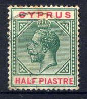 CHYPRE - 57° - GEORGE V - Cyprus (...-1960)
