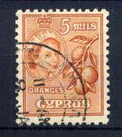 CHYPRE - 158° - ORANGES - Cyprus (...-1960)