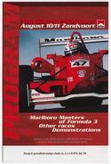 MARLBORO MASTERS Of FORMULA 3 -2002 - Zandvoort, Holland - FERRARI, Takumo  Sato, Formule FORD, RENAULT Etc - Programma's