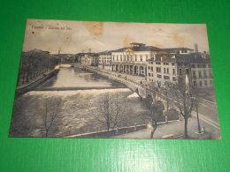 Cartolina Treviso - Cascata Del Sile 1910 Ca - Treviso